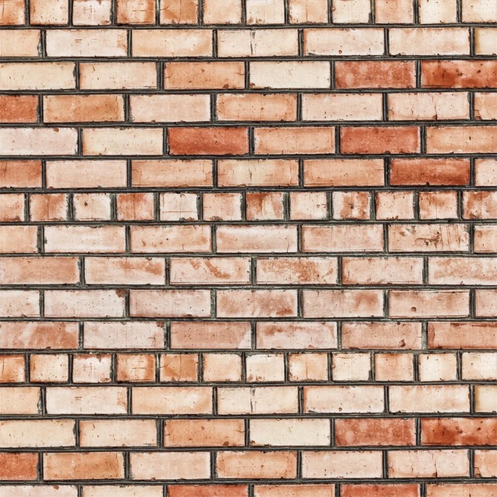 papel de parede adesivo tijolo r stico 036 stickdecor