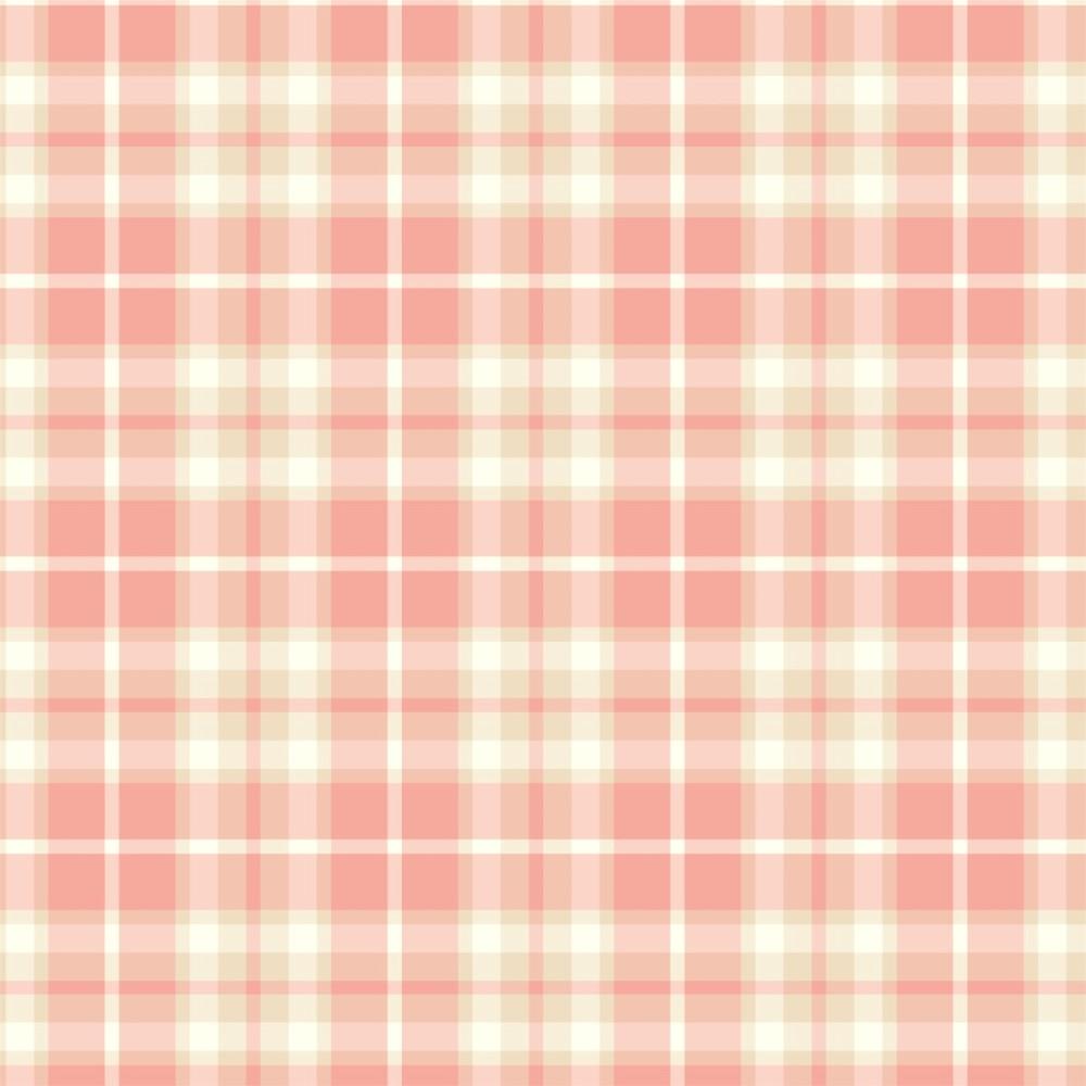 Aparador Branco Para Quarto De Bebe ~ Papel de Parede Adesivo Xadrez Rosa StickDecor