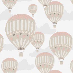 Papel de Parede Adesivo Teens Balões Sky