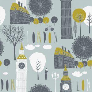 Papel de Parede Adesivo Teens London Traveller