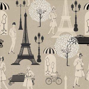 Papel de Parede Adesivo Teens Paris