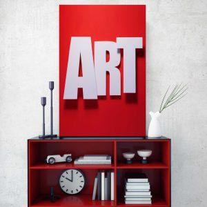 Placa Decorativa ART
