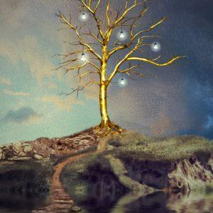 Placa Decorativa Árvore