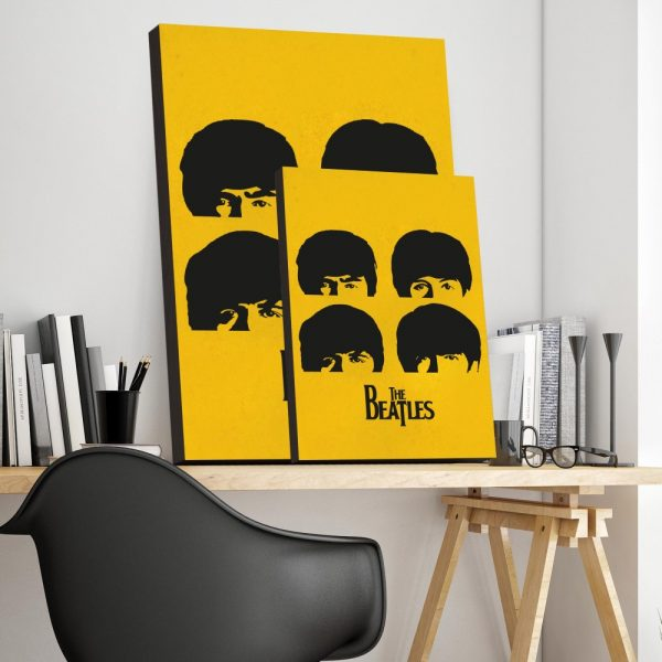 Placa Decorativa Beatles