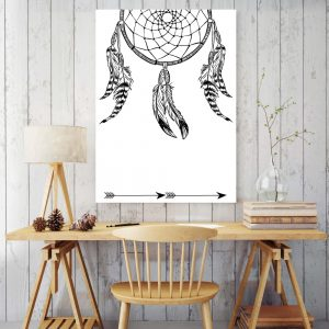 Placa Decorativa Filtro dos Sonhos