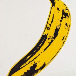 Placa Decorativa Pop Art Banana