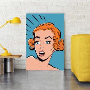Placa Decorativa Pop Art