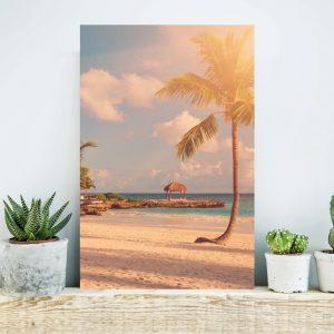 Placa Decorativa Praia
