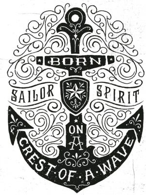 Placa Decorativa Sailor