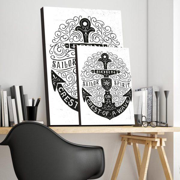 Placa Decorativa Sailor