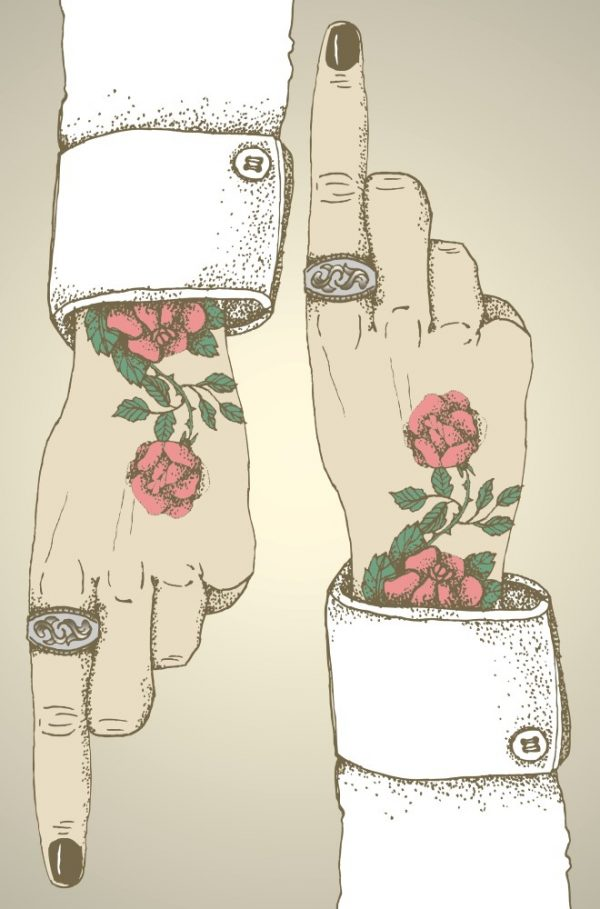 Placa Decorativa Tattoos