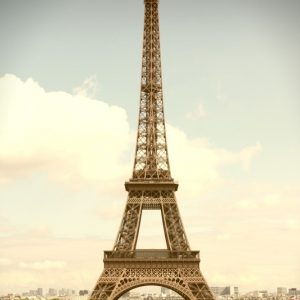 Placa Decorativa Torre Eiffel