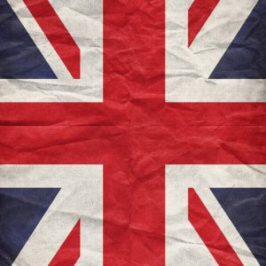 Placa Decorativa UK