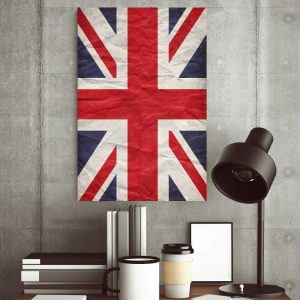 Placa Decorativa UK