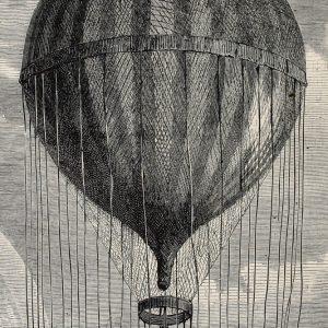 Placa Decorativa Vintage Balão