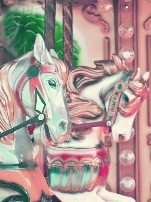 Placa Decorativa Vintage Carrosel