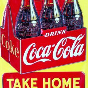Placa Decorativa Vintage Drink