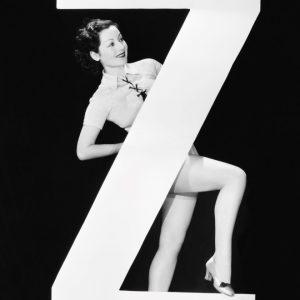 Placa Decorativa Vintage Letra Z