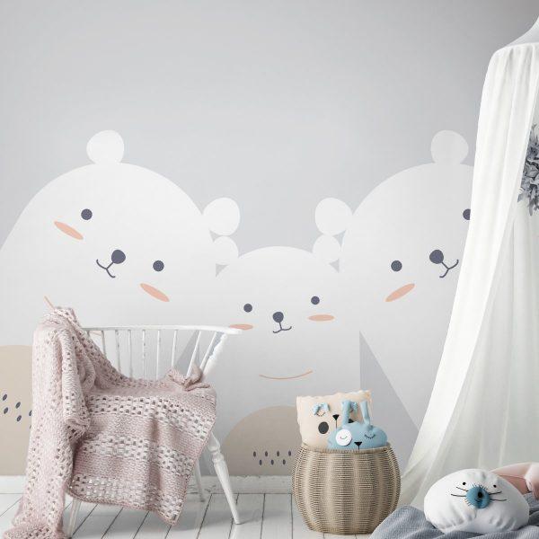 Painel Fotográfico Ursos Grandes