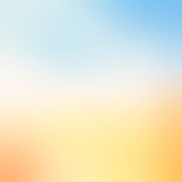 Painel Fotográfico Degrade Claro Azul e Amarelo