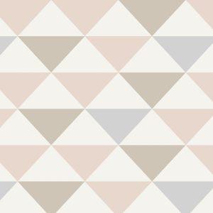 Papel de Parede Adesivo Triângulos Grandes