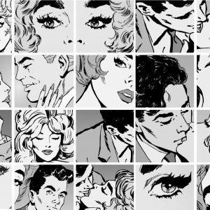 Painel Fotográfico Artístico Quadrinhos de Pop Art