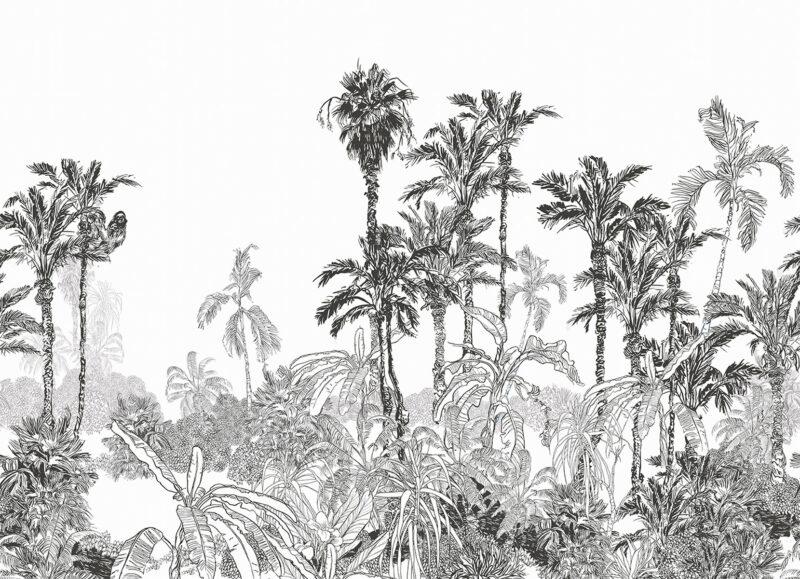 Painel Fotográfico Floresta Botânica