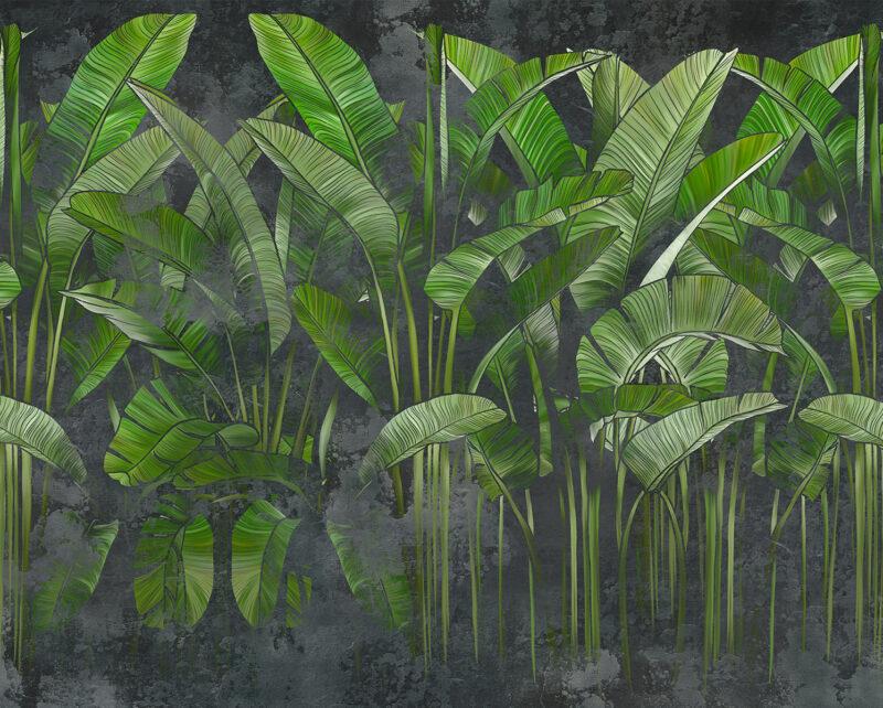 Painel Fotográfico Folhagem Hutan