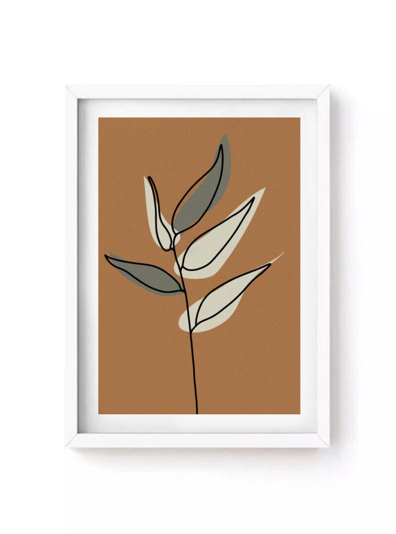 Quadro Leaves I
