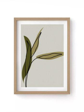 Quadro Leaves III