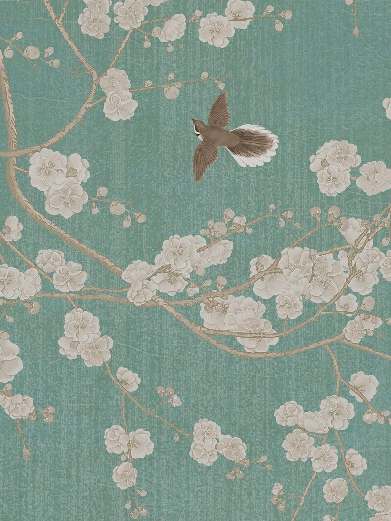 Painel Fotográfico Flores de Cerejeira