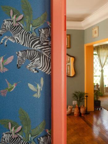 Papel de Parede Zebra